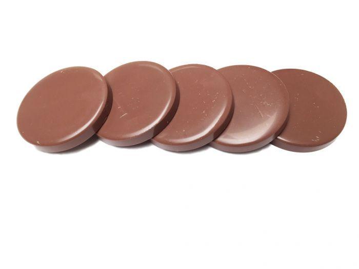 Brown Chocolate Harde Striploze Wax (licht geparfumeerd) 1 kg in harsschijven