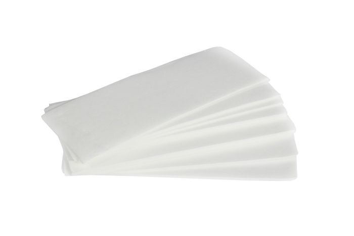 Vezelvliesstrips 50 stuks voor het verwijderen van vloeibare ontharingshars